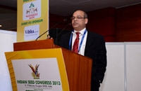 Dr. Manash Chatterjee Made A Presentation At The Indian Seed Congress