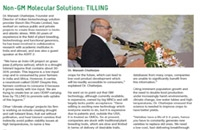BenchBio TILLING technology mentioned in the APSA magazine